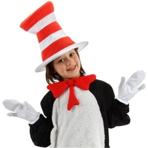 Cat In The Hat- Child Accessory Kit - Accessories & Makeup